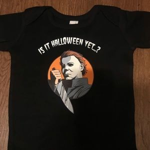 4f80e82bf Cotton Heritage One Pieces   Baby Onesie Michael Myers Edition ...